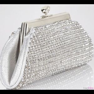 La Regale Mini Rhinestone Clutch